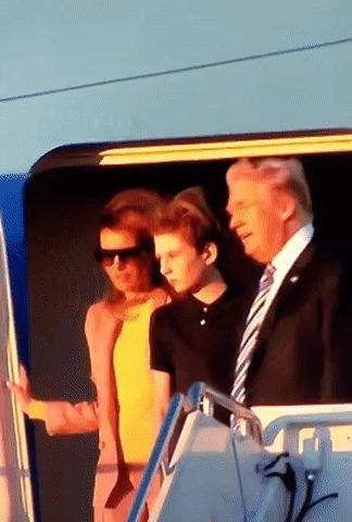 Тяжело быть сыном президента.