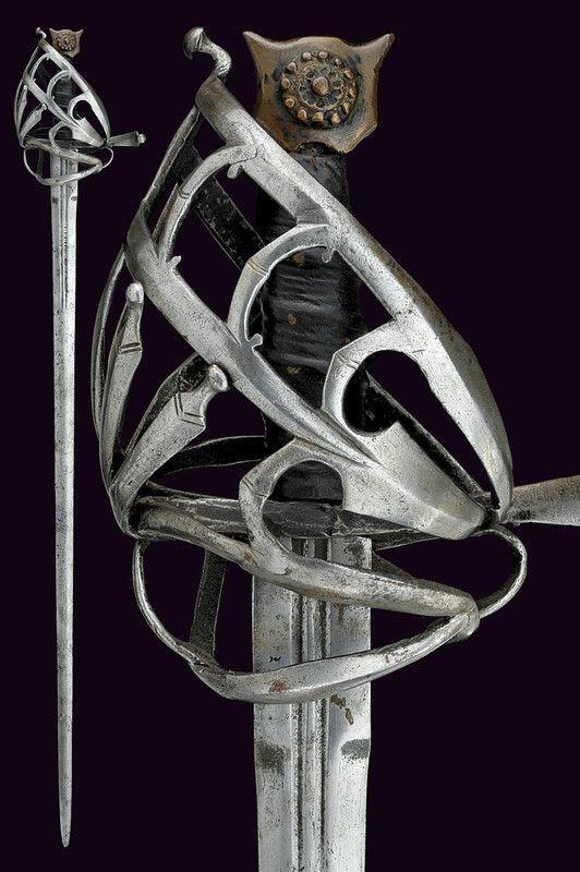 Меч ренессанса:Скьявона. Меч, Рапира, Холодноее оружие, Длиннопост, Ренессанс, Скьявона, Фотография