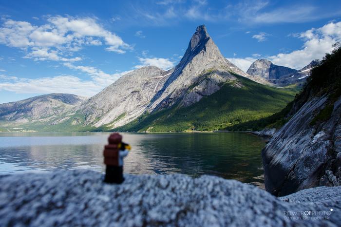 Путешествие Лего человечка Lego Travelers Story, Lego, Природа, Не мое