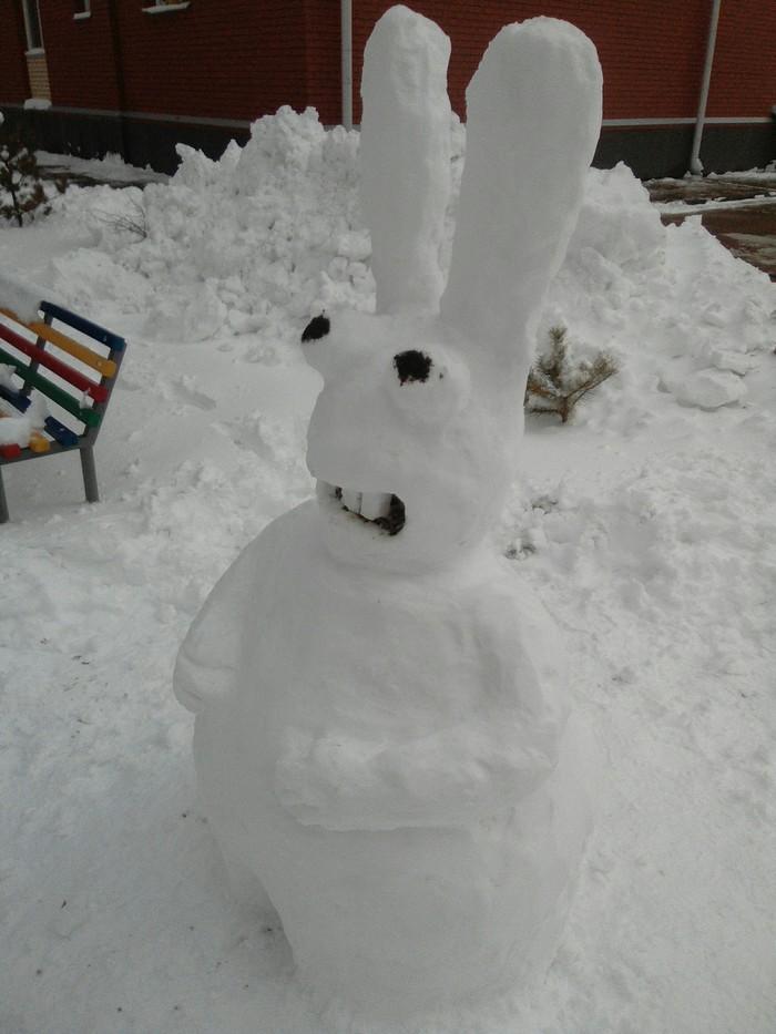 Зима, до свиданья! Снеговик, Своими руками, Длиннопост