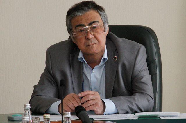Уволен Аман Тулеев. Кемерово, Тулеев Зимняя вишня