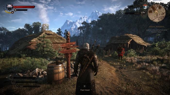 Новый мод для The Witcher 3: Wild Hunt возвращает тот самый красивый интерфейс с Е3 Ведьмак, Ведьмак 3, The Witcher 3:Wild Hunt, Длиннопост