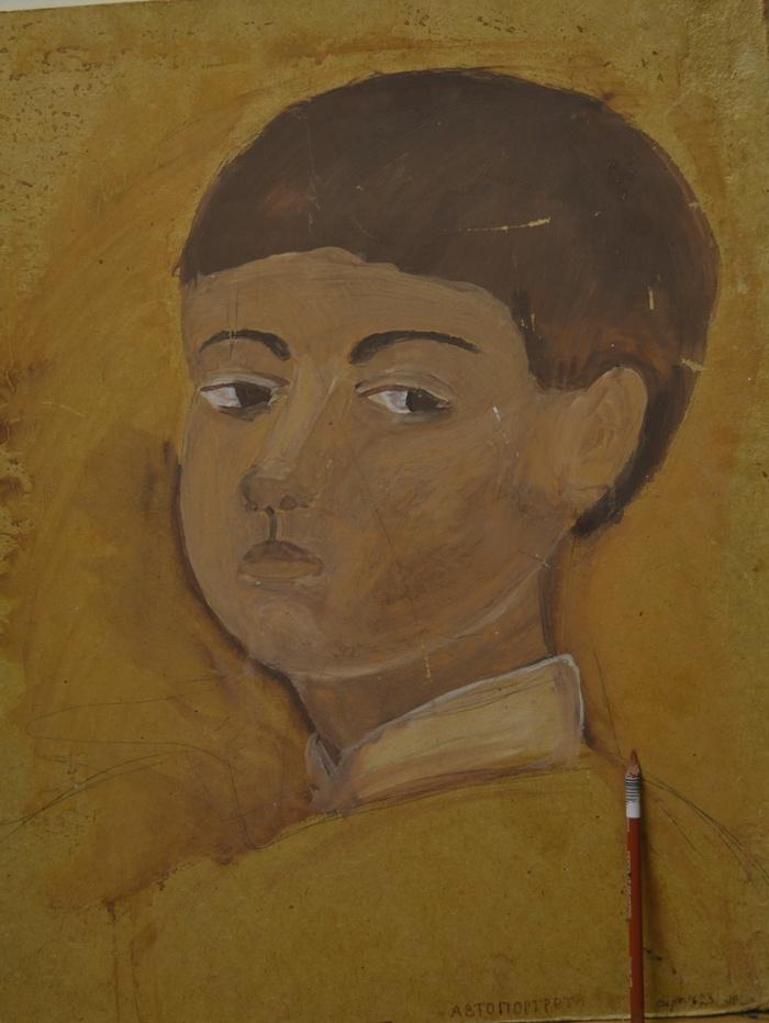 Два автопортрета, нарисованных с разницей 20 лет Портрет, Рисунок, Длиннопост, Автопортрет, Карандаш
