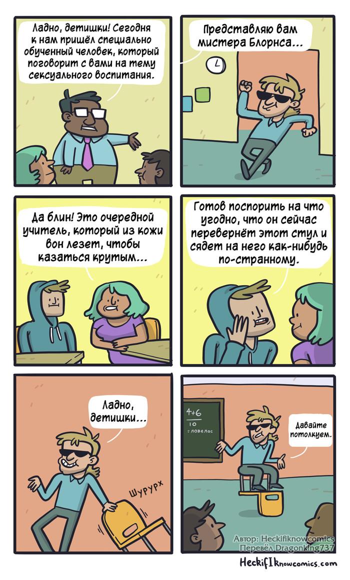 Мистер Блорнс Комиксы, Heckifiknowcomics, Перевел сам