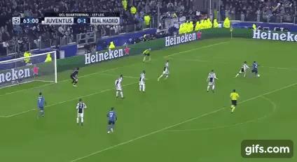 Роналду забил какой-то космос! Спорт, Футбол, Лига чемпионов, Реал Мадрид, Криштиану Роналду, Гифка