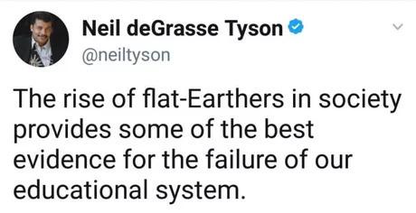 Грустно, потому что правда Нил Деграсс Тайсон, Плоская земля, Образование, Скриншот, Перевод