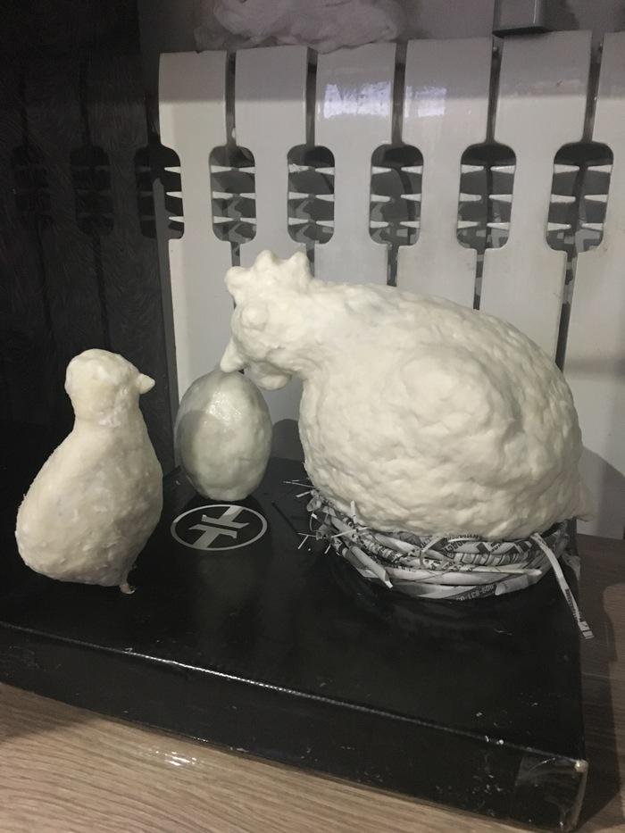Адская пасхальная курица!