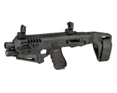 CAA Roni или Глок превращается.. Glock, Sbr, Roni stabilizer, Длиннопост, Видео