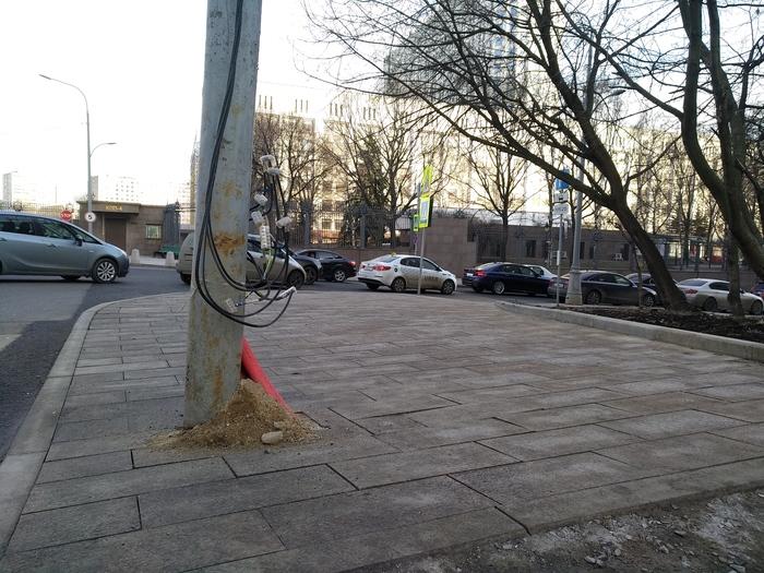 Многомиллионный ремонт в Москве Распил, Бюджет, Москва, Улица, Разгильдяйство