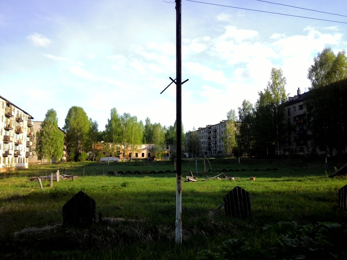 Заброшенный городок