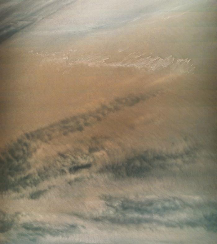 Свежая фотография облаков Юпитера, полученная отJuno Juno, Космос, Юпитер
