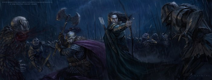 Братство Кольца: Леголас и Гимли