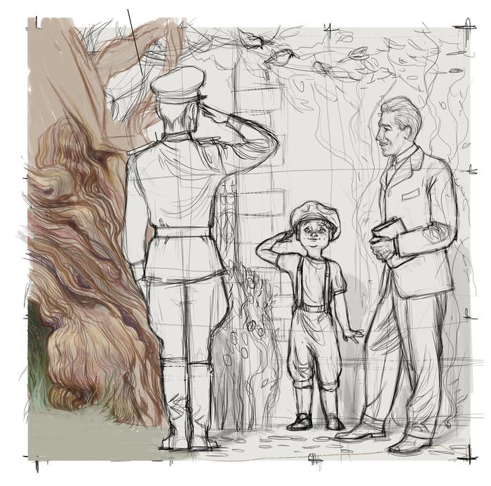 Военная форма Военная форма, Обмундирование, Иллюстрации, Пантелеев, Рисунок, Военные