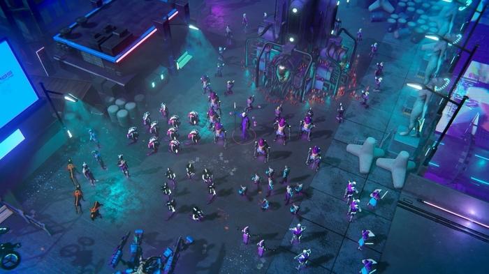 Анонсирован трейлер киберпанковой изометрической стратегии Re-Legion. Игры, RTS, Ice Code Games, Re-Legion, Видео, Длиннопост