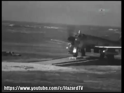 Ту-91 «Бычок»: бомбардировщик, торпедоносец и штурмовик Ту-91, Туполев, Бомбардировщик, Торпедоносец, Штурмовик, Видео, Длиннопост, Гифка