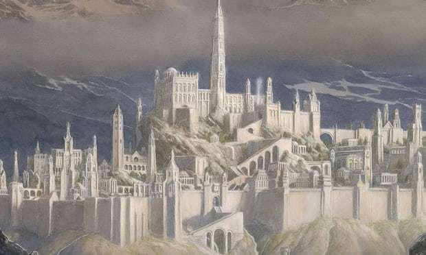 В августе выйдет новая книга Толкина во вселенной «Властелина колец». Интернет, Толкин, Сильмариллион, Гондолин, Новинки, Книги