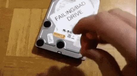 Самое быстрое восстановление данных с HDD