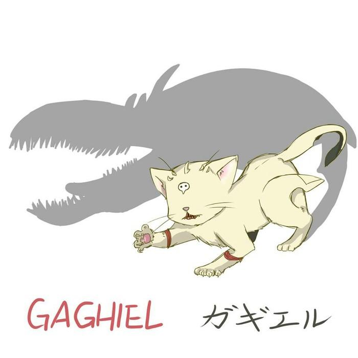 Котофикация ангелов 2 Evangelion, Аниме, Anime Art, Картинки, Длиннопост