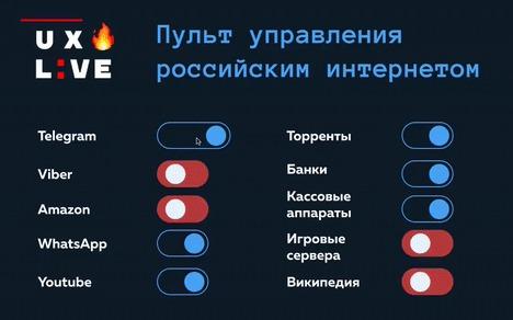 Пульт управления российским интернетом Пульт, Интернет, Блокировка, Мессенджер, Telegram, Политика, Гифка