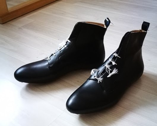 Ботинки ручной работы. Вторая самостоятельная пара. Обувь, Ботинки, Ручная работа, Кожа, Длиннопост
