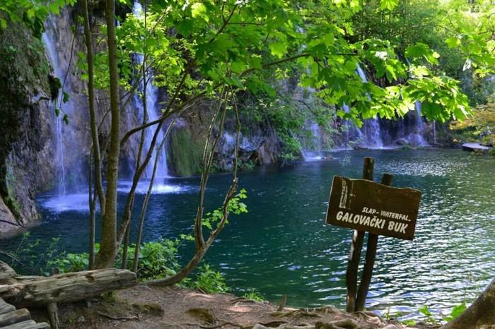 «Плитвицкие озера»— национальный парк в Хорватии