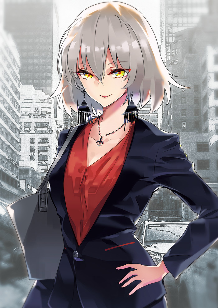 Heroic Ladies Anime Art, Fate Grand Order, Mordred, Jeanne Alter, Scathach, Mashu Kyrielite, Florence Nightingale, Saber, Длиннопост