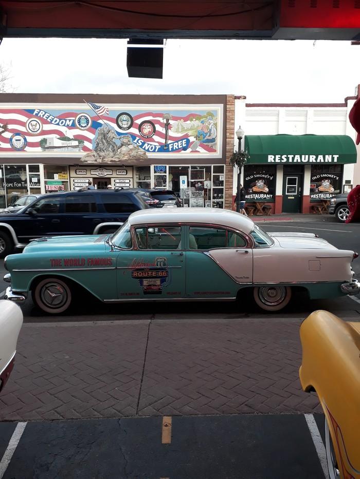 Подборка старых американских автомобилей (г.Уильямс, США) Автомобильная классика, США, Путешествия, Длиннопост