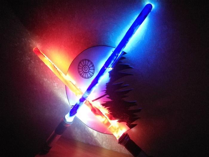 Светильник из лазерных мечей или джедайский DIY Star wars, Diy lamp, Diy or die, Своими руками, Светильник, Рукоделие с процессом, Видео