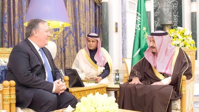 США и Саудовская Аравия втягивают Иорданию в сирийский конфликт Политика, Геополитика, США, Иордания, Сирия, Саудовская Аравия, Война, Помпео