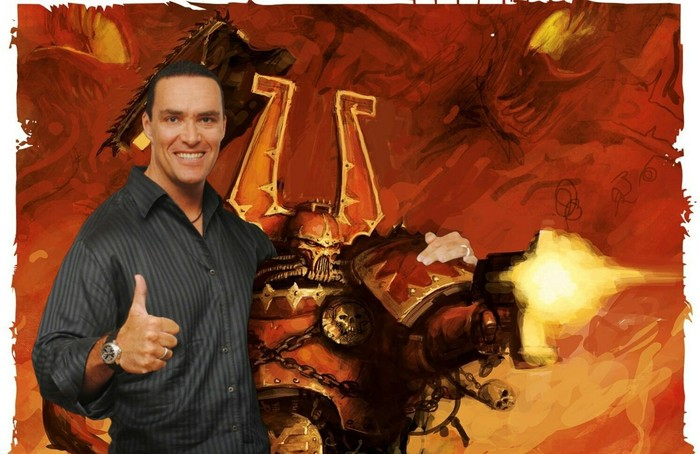 Сгущенка богу сгущенки. Wh humor, Warhammer 40k, Абсолютли, Александр Невский, Берсерк, Мой пeздюк