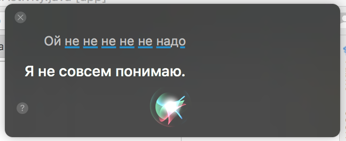Случайно Глупость, Бред, Mac os, Siri, Я тут нажала и всё сломалось