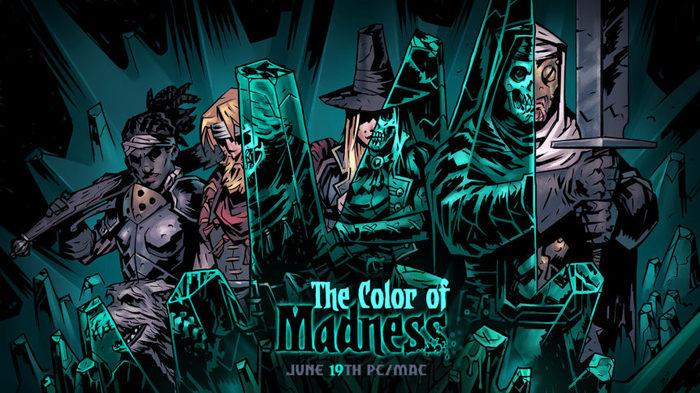 19 июня выйдет новое дополнение Darkest dungeon, The Color of Madness, Игры, Dlc, Промо