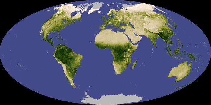 Сезонные изменения в атмосфере экзопланеты могут указывать на наличие жизни космос, жизнь, планета, сезонные, изменения
