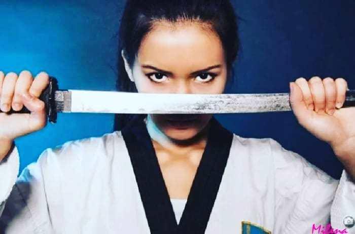 Айжан Байзакова - горячая чемпионка Казахстана по тхэквондо Айжан, Байзакова, Казахстан, Тхэквондо, Чемпион, Длиннопост, Видео