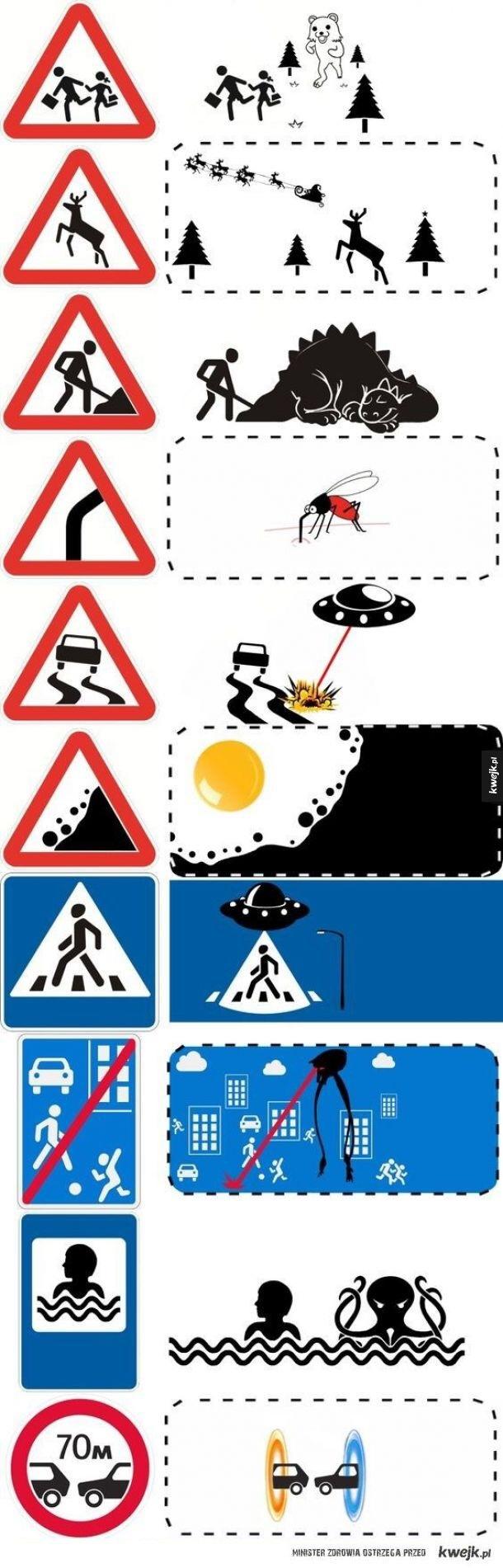 Что скрывают дорожные знаки Дорожный знак, Юмор, Длиннопост