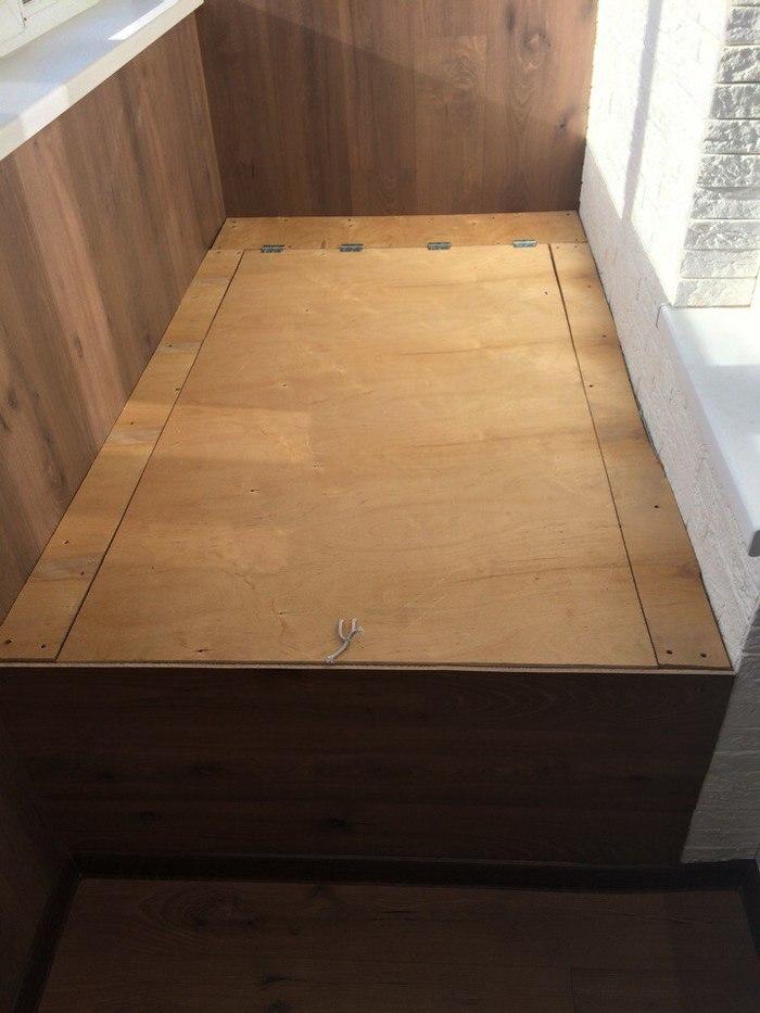 Ящик-кровать на балкон лето, жара, длиннопост