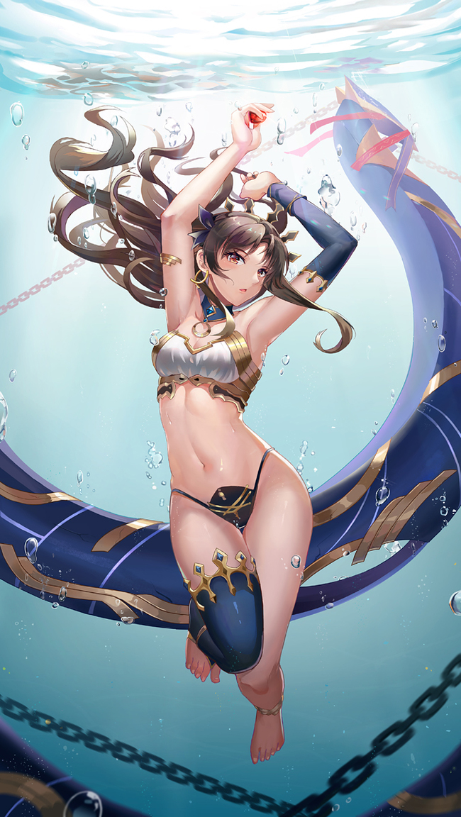 Fate Art Аниме, Anime Art, Fate, Fate Grand Order, Ishtar, Tohsaka Rin