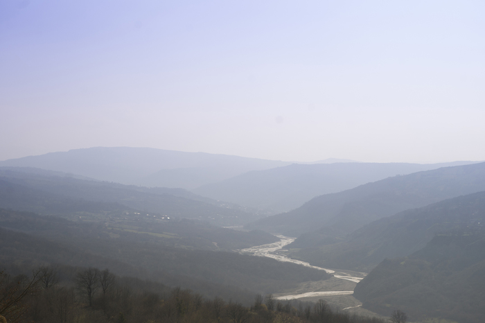 Весна в горах Кавказа. 1 половина апреля. Кавказ, Горы, Весна, Длиннопост