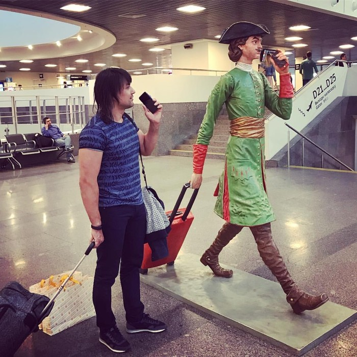 Аэропорт Пулково. Петр уже не тот.