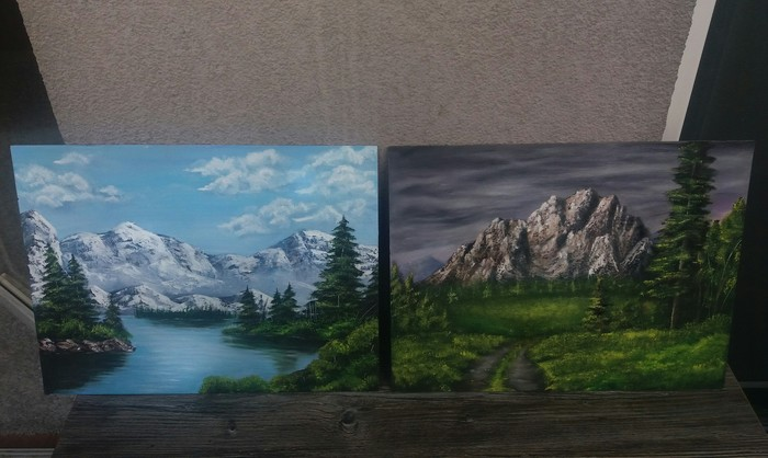 Мои работы. масло, картина, холст, рисунок, пейзаж, вдохновение, творчество