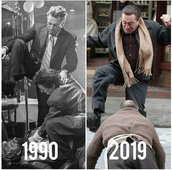 Славные парни(1990)//Ирландец (2019).