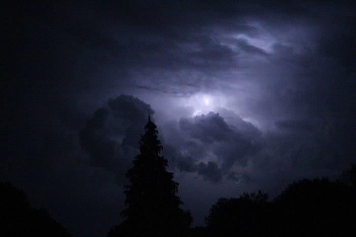 Гроза Гроза, Начинающий фотограф, Хреновая погода, Фотография, Длиннопост