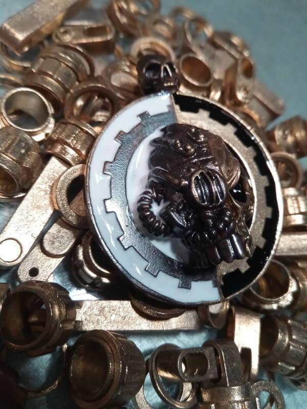 Долгожданные печати ... Wh Other, Warhammer 40k, Adeptus mechanicus, Wh40к, Художественное литье, Литье, Эмаль, Латунь, Длиннопост