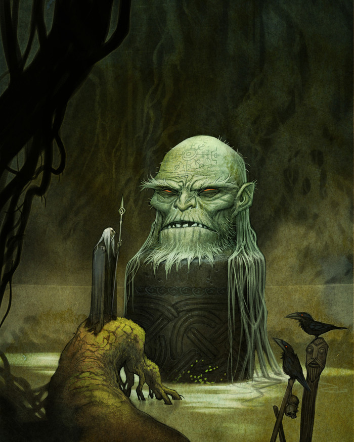"""""""Norse Gods"""" by Johan Egerkrans Арт, Скандинавская мифология, Johan Egerkrans, Длиннопост"""