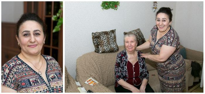 Эсмира Ахмедова из города Лангепас ухаживает за 70-летней соседкой, принимает участие в программе «Приемная семья для пожилого человека» Гордость России, Помощь