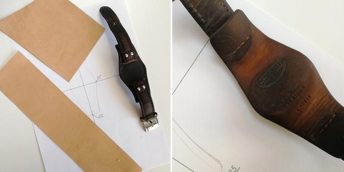 Широкий кожаный ремешок для часов Кожевенное ремесло, Кожа натуральная, ремешок, часы, ручная работа, рукоделие с процессом, видео, длиннопост