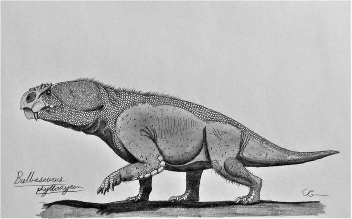Bulbasaurus Интересное, Познавательно, Длиннопост, Палеонтология, Доисторические животные