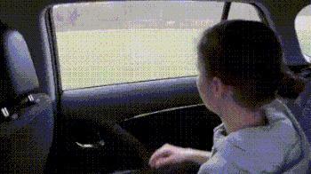 Интерактивное автомобильное стекло