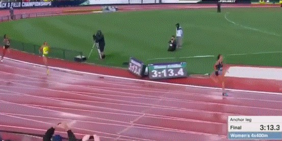Мощный финиш
