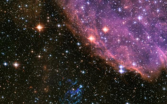Глубокий космос Космос, Фотография, Звездное скопление, Обои на рабочий стол, Красота, Длиннопост
